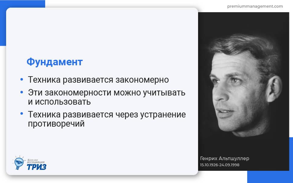 Генрих Альтшуллер, ТРИЗ