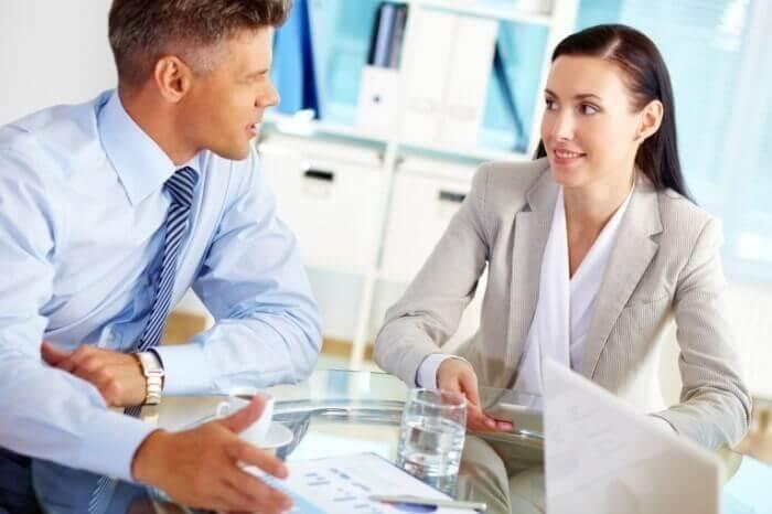 Мужчина и женщина в бизнесе